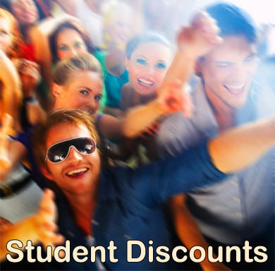 Free registration that verifies student status and allows participating retailers to generate a coupon code for the online discount Please note that some of these discounts are dependent on factors such as franchise location, date, or availability.