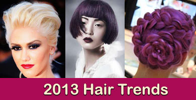 2013 Hair Colour & Hairstyle Trends