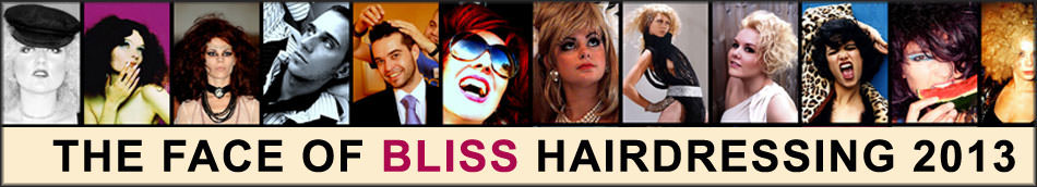 THE FACE OF BLISS HAIRDRESSING 2013