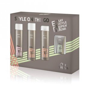 Bliss Hair Wella Eimi style on the go gift packs