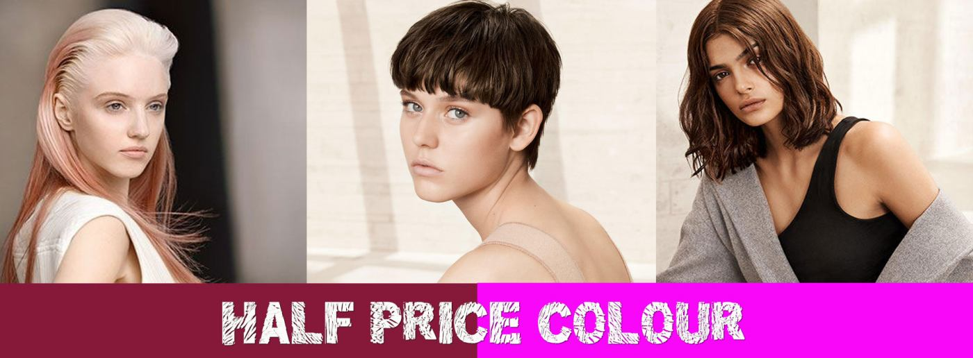 half-price-colour at bliss hair salons Loughborough and Nottingham