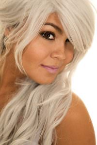 SILVER GREY HAIR COLOURS AT NOTTINGHAM AND LOUGHBOROUGH HAIR SALONS