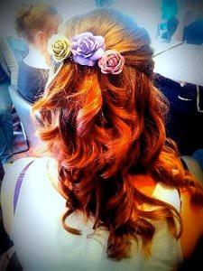Bridal Hair Styles, Curly Bridal Hair, Nottingham hair salon