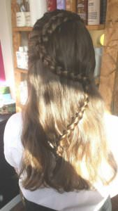 Bridal Plaited Hairstyles, Nottingham and Loughborough