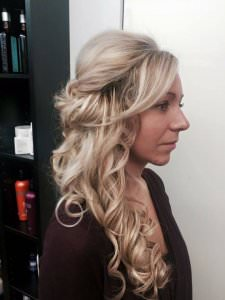 Bridal long hairstyles, Bliss Hair Salon, Nottingham