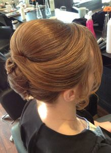Classic Wedding Hair Upstyles, Nottingham hair salon