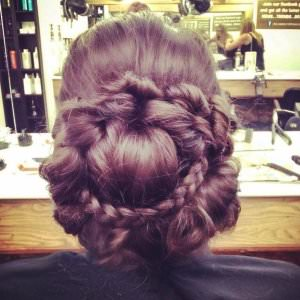 Intricate Plaited Bridal Hair, Hairdressers, Loughborough, Nottingham