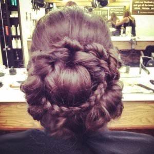 Intricate Plaited Bridal Hair, Hairdressers, Loughborough, Nottingham