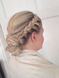Plaited Bridal Hair Ideas, Nottingham hair salon
