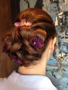 Wedding Upstyles at Bliss Hair Salon, Loughborough
