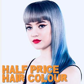 HALF PRICE HAIR COLOUR