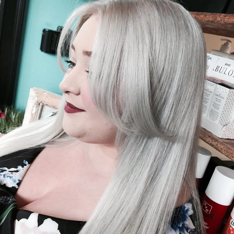 how to get platinum grey hair