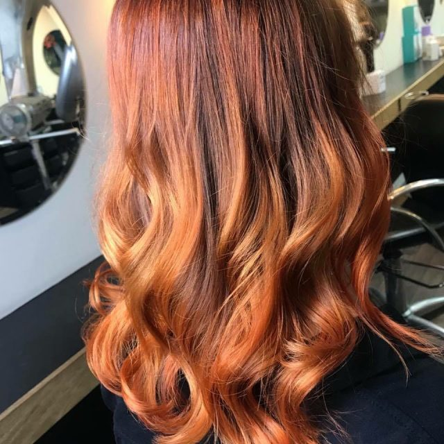Gorgeous autumn colour by our Nottingham based stylist Aleighsha! Tohellip