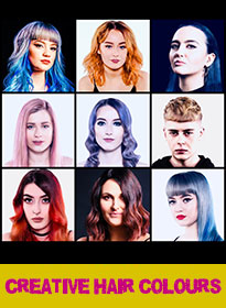 CREATIVE HAIR COLOURS at Bliss Hair Salons in Nottingham & Loughborough