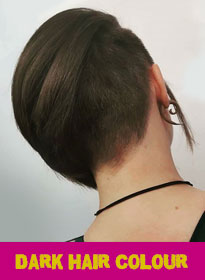 dark hair colour at bliss hair salons Loughborough and Nottingham