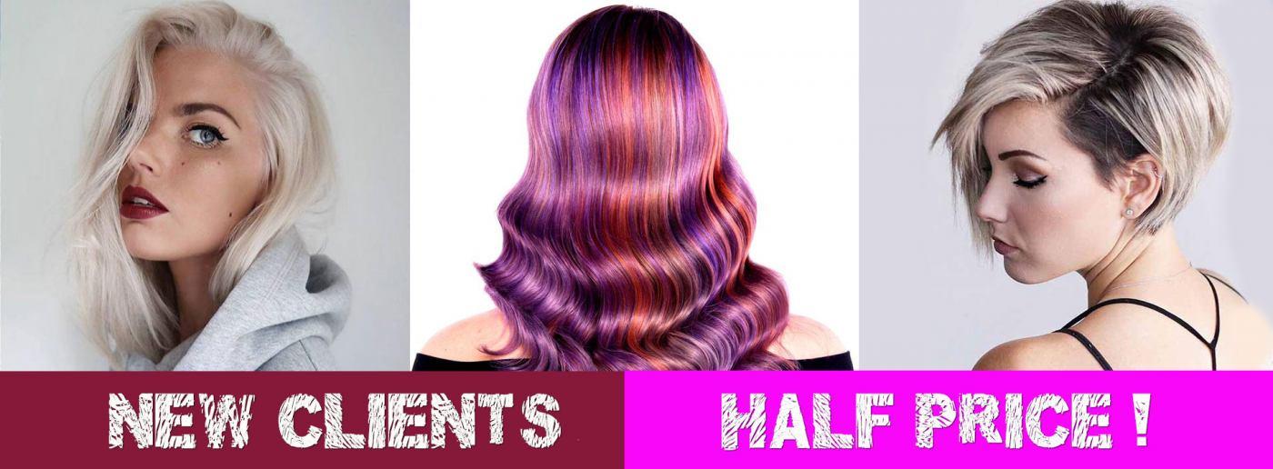 We Missed You… HALF PRICE HAIR OFFER!