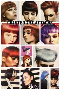crafted art attacks, hair trend, bliss hair salons, nottingham, loughborough