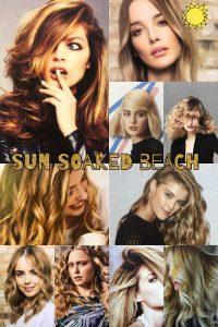 sun soaked beach hair, bliss hair salons, nottingham, loughborough