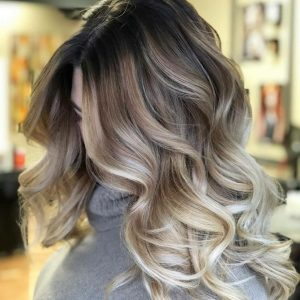 roote blonde, balayage, bliss hair salons, nottingham, loughboroguh