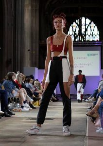 Nottingham College Fashion Show, Bliss Hair Salons, Nottingham, Loughborough