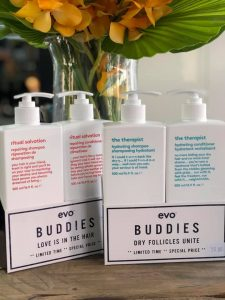 Evo Buddies, Duo Sets, Shampoo & Conditioner, Product Offer, Bliss Hair Salons, Nottingham, Loughborough