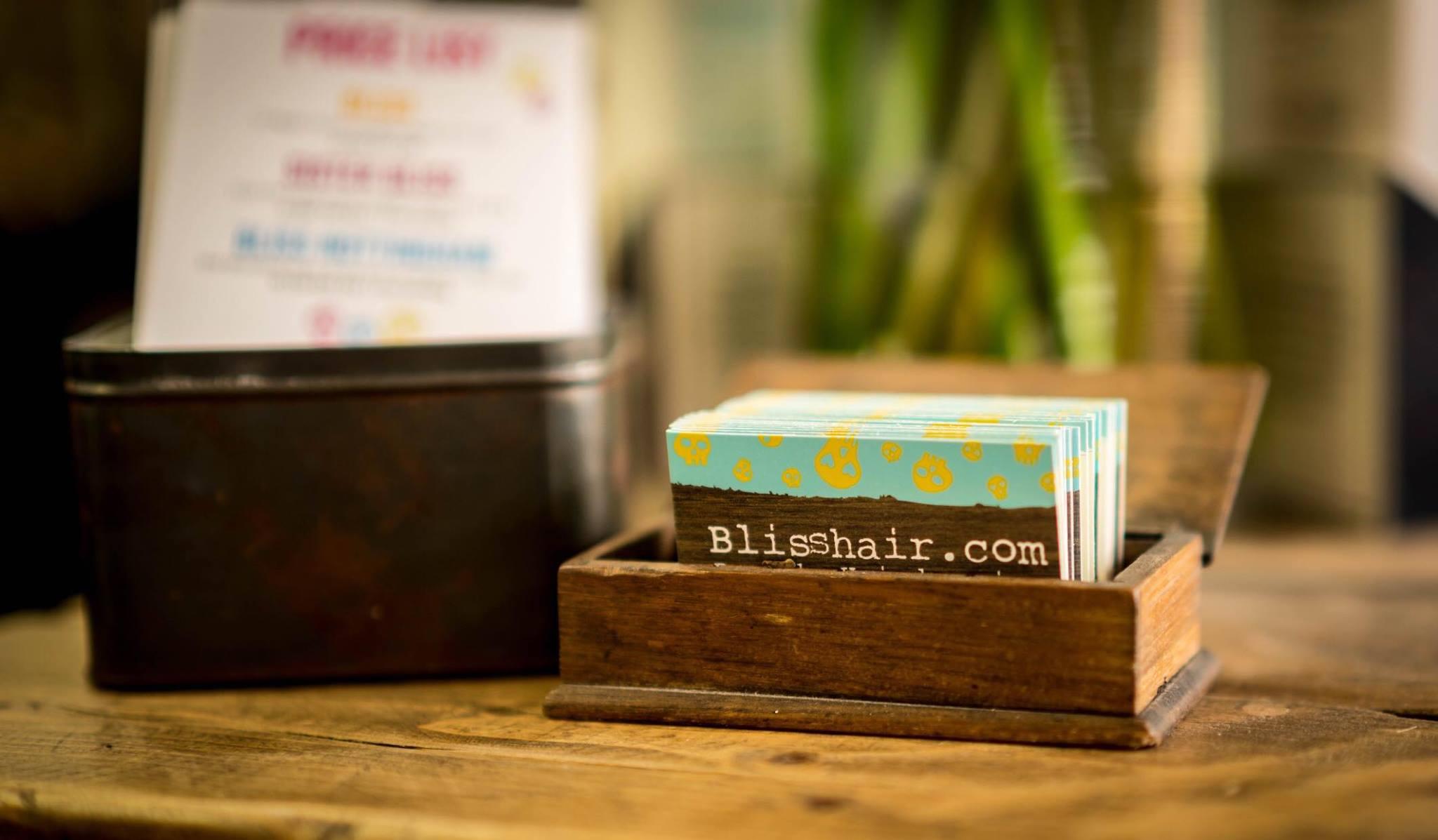 Bliss Banner, Bliss Hair Salons, Nottingham, Loughborough