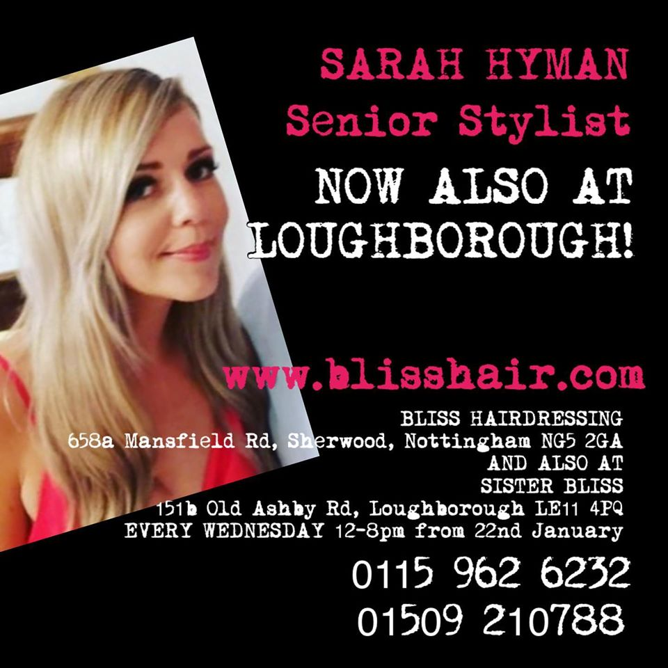 New Senior Stylist Available at Sister Bliss