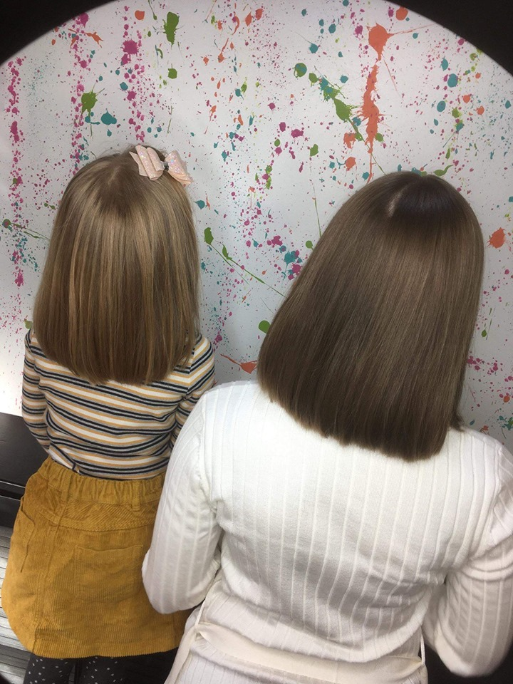 Little Princess Trust Haircuts at Bliss Hair Salons in Nottingham & Loughborough