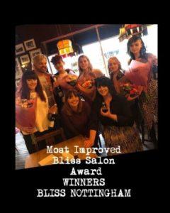 Bliss Awards, Bliss Hair Salons in Nottingham & Loughborough