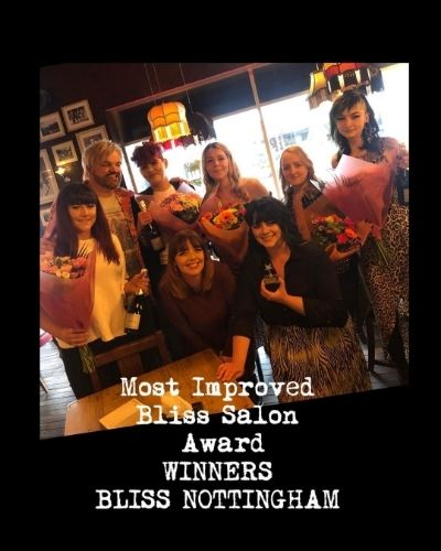 Bliss Awards, Bliss Hair Salons in Nottingham & Loughborough