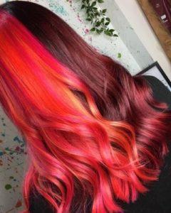 Creative Hair Colour at Bliss Hair Salons in Nottingham Loughborough