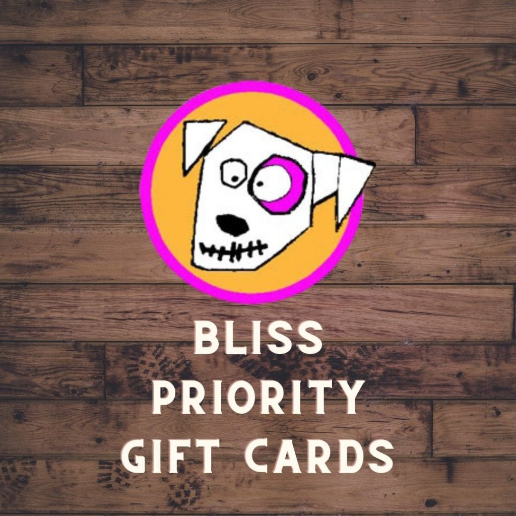 BLISS GIFT CARDS 1