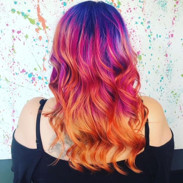 Fashion Hair Colours, Bliss Hairdressing Salons in Nottingham & Loughborough