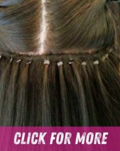 Expertly fitted Hair Extensions AT BLISS HAIR SALONS NOTTINGHAM AND LOUGHBOROUGH