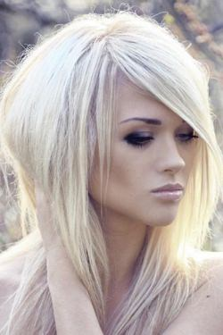 platinum hair colour