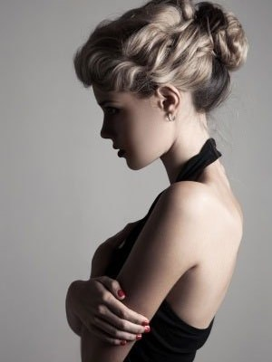 Romantic Hairstyles for Valentine's Day Bliss hair salons in Nottingham and Loughborough