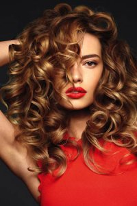 The best party hairstyle at Bliss Hair Salons in Nottingham & Loughborough
